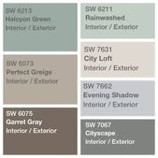 sherwin williams favorite colors sea salt city loft worldly gray
