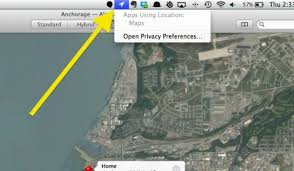 how to enable and disable location services for specific mac apps