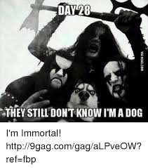 Immortal Meme - day 8 they still dont know i m a dog i m immortal