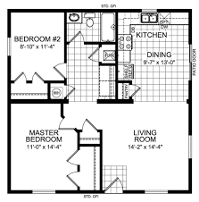 2 bedroom cottage floor plans 3d house floor plans one bedroomhouse plans exles house plans