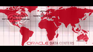 World Cloud Map by Tour Oracle U0027s Global Cloud Datacenters Youtube