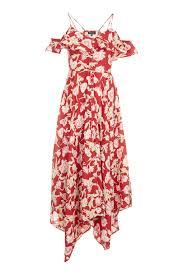 topshop dress hanky hem floral dress topshop