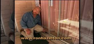 How To Fix A Patio Door How To Adjust Repair Sliding Patio Doors Construction Repair