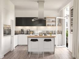 kitchen scandinavian kitchen features white and black wooden