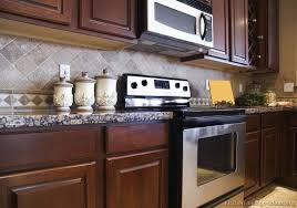 kitchen backsplash ideas for cabinets kitchen backsplash for cherry cabinets awesome tile backsplash