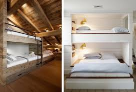 Bunk Beds Built Into Wall Bed Built Into Wall Niche Above L Three Single Beds And