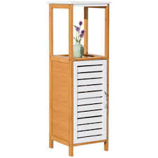 floor cabinet with drawers bamboo cabinet ebay