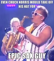 Saxophone Meme - image 324898 epic sax guy know your meme