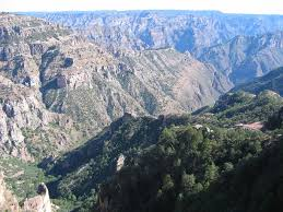 Chihuahua Mexico Map Copper Canyon Mexico Barrancas Del Cobre Map Facts Location Tours