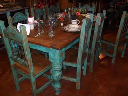 distressed kitchen table and chairs table with turquoise chairs furniture pinterest turquoise