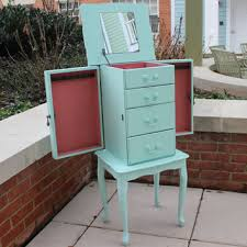 Jewelry Armoire Vanity Best Painted Jewelry Armoire Products On Wanelo