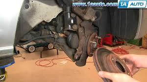 how to install replace front brakes honda civic 01 05 1aauto com