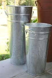 Diy Tall Vase Diy Shipping Tube To Galvanized Vase The Hamby Home