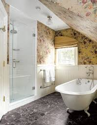 solutions for small bathrooms old house restoration products 4 strategies for small baths an upstairs bathroom takes advantage of found space the shower is built into the unfinished