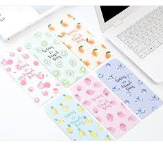 stationery envelopes new 5 pcs set candy colors fruit stationery envelopes paper