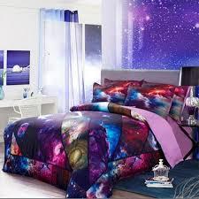 Galaxy Bed Set Shop Free Shipping Galaxy 3d Bedding Set Universe
