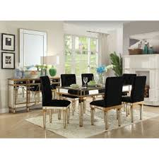 Mirror Dining Table by Designer Mirrored Furniture Awesome