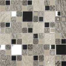 modern kitchen tile texture beige metal textured glass mosaic