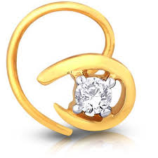 girls gold rings images Nose rings for girls 0 05 ct round diamond gold designer jpg