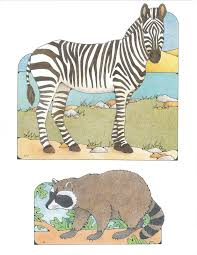 primary 1 i am a child of god cutouts 1 17 zebra 1 18 raccoon