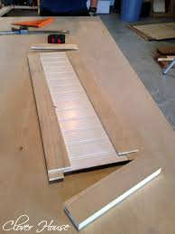 how to make mission style cabinet doors clover house kitchen cabinet makeover part 3 we realized after were done assembling all the doors