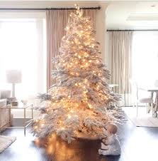 christmas tree with lights sale best flocked christmas trees a large flocked tree with lights you