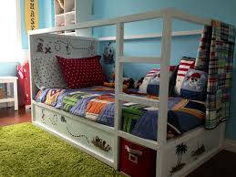 Pirate Bedroom Furniture Bedroom Ikea Bunk Bed Made Into A Pirate Ship Hacks Pinterest