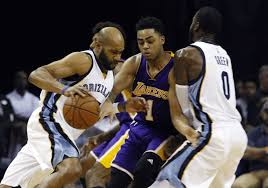 lakers vs grizzlies la times
