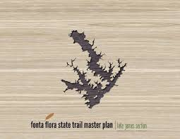 fonta flora state trail master plan lake james section by dbd