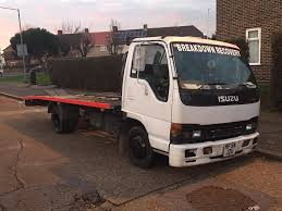 isuzu npr 77 3 0 diesel recovery truck 2005 54 plate in