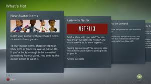 xbox live update games on demand netflix movie party u0026 more