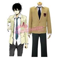 Hitman Halloween Costume Katekyo Hitman Reborn Namimori Uniform Cosplay Costume