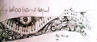 piano tattoo images u0026 designs
