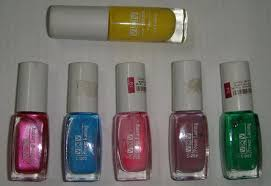 vov neon nail paints review indian makeup and beauty blog
