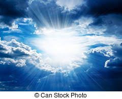 clouds sun through clouds stock photos and images 911