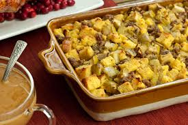 bread dressing recipes for thanksgiving cornbread stuffing with sausage and apples recipe chowhound