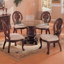 Beautiful Round Glass Dining Room Table Pictures Home Design - Glass round dining room tables
