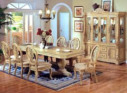 Antique White Dining Room Furniture Furniture Good Looking Coaster Camille White Wood Dining Table
