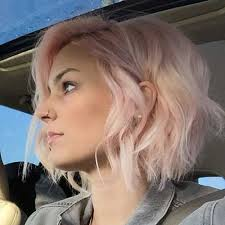 www short 25 short hair color 2014 2015 pink blonde hair short wavy