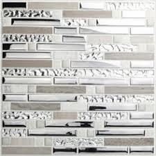 Gray Stone Backsplash by Aliexpress Com Buy Grey Stone Blend Stainless Steel Glass Mosaic