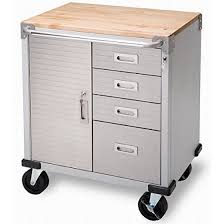 Rolling Storage Cabinet Seville Classics Ultrahd Rolling Storage Cabinet With Drawers