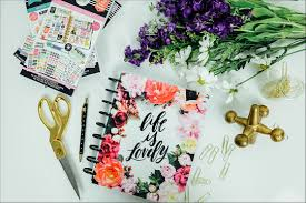 floral accessories find the create 365 the medium happy planner market floral at
