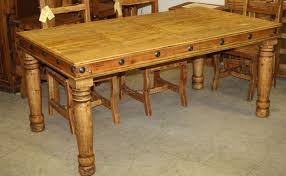 table used dining table wonderful pine dining room table