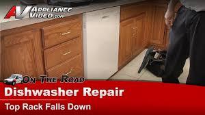Kitchenaid Dishwasher Utensil Holder Dishwasher Repair Top Rack Supports U0026 Rollers Whirlpool
