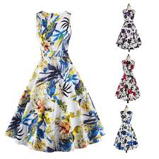 Floral Prints by Online Get Cheap 60 U0026 39 S Dress Style Aliexpress Com Alibaba Group