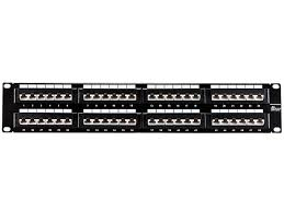 Patch Panel Wiring Diagram 48 Port 45 Degree Cat5e Patch Panel 568a B Compatible