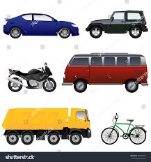 jeep van truck vector vehicle collection game other use stock vector 542950243