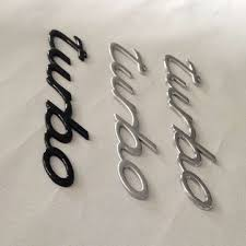 china promotional 3d self adhesive abs plastic chrome plating