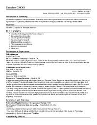 Occupational Therapy Resume Examples by Home Design Ideas Respiratory Therapist Resume Sample Resume