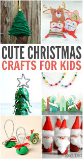 40 cute christmas crafts for kids special occasions pinterest